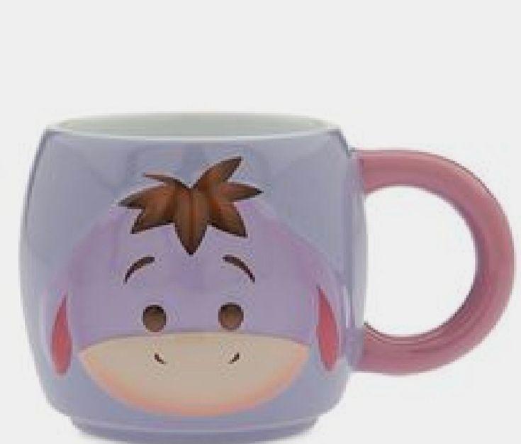 Tsum Tsum Eeyore Glassware Pooh Mugs