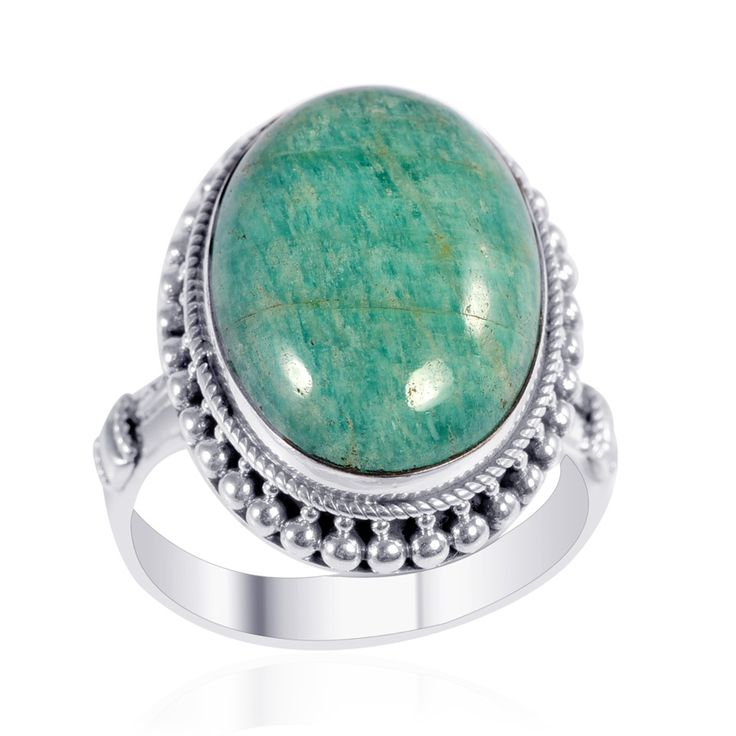gift market etsy silver il peacefull rings gemstone amazonite ring