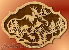 Scroll Saw Patterns :: Wildlife -