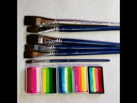 手机壳定制handbags made in italy Basic One Stroke Face Painting Tutorials  YouTube