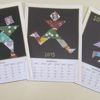 Calendriers 2015 Un bon moyen de gagner quelques sous pour financer vos projets. Les bonhommes Tangram - Grandes sections Télécharger « tangram à découper pour calendrier.docx » à...