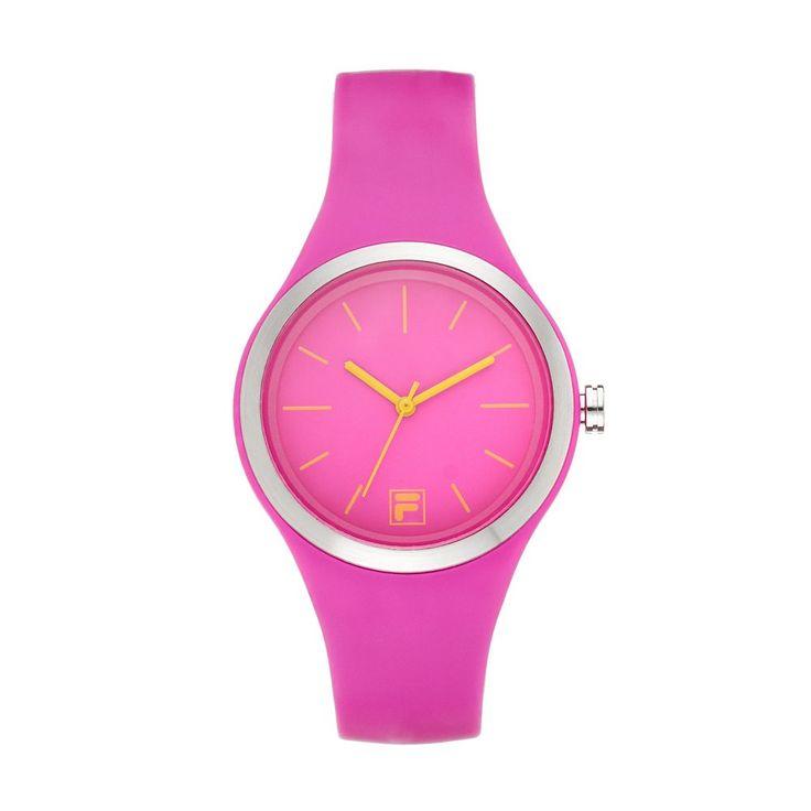 Fila® Women's Pink Watch