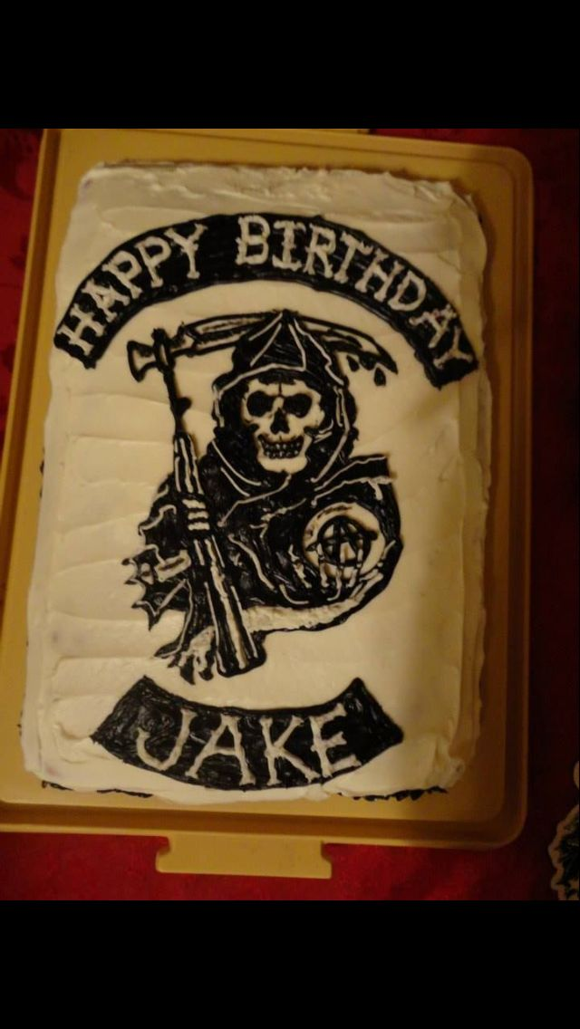 Sons Of Anarchy Cake Designs