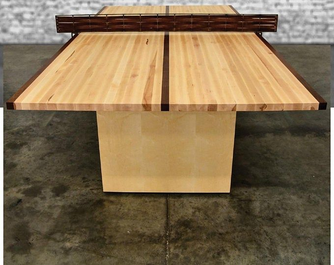 Custom Wood Ping Pong Table Table Tennis Table Conference Table 2