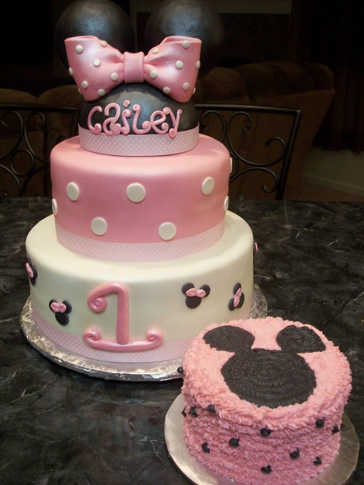 17 Best Images About Smash Cake On Pinterest Minnie