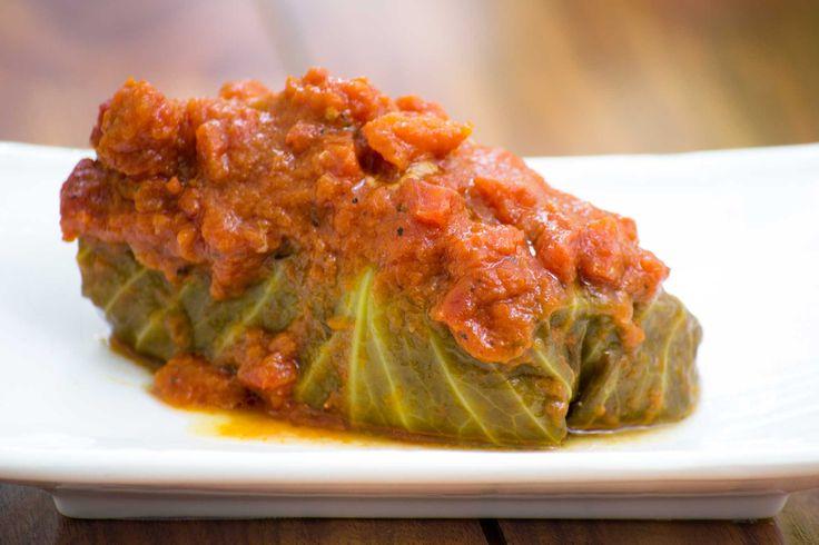 Golabki: Polish Stuffed Cabbage Recipe