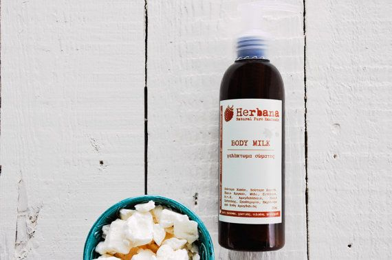 Body Lotion Moisturizer Argan oil Vitamin E Body Milk