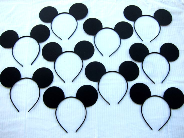10 Mickey Mouse ears headbands LOT ONLY by PerfectPartyParade, $22.50