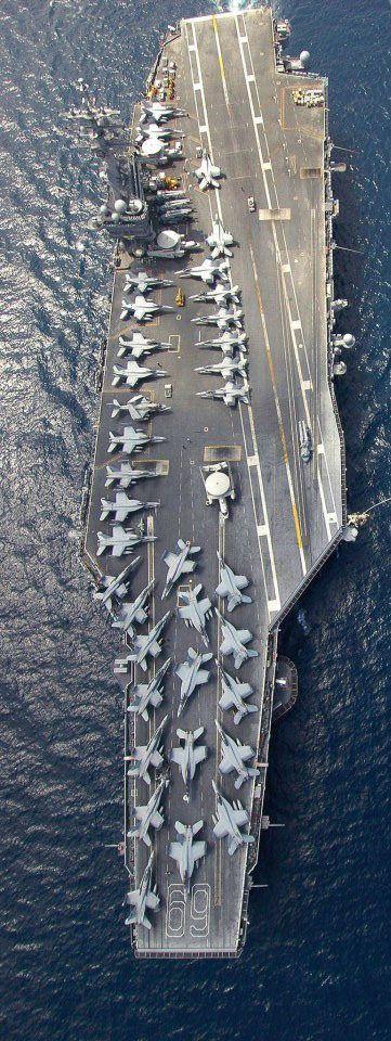 USS Dwight D. Eisenhower by ed j   by ingoval