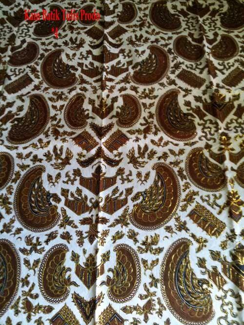 Kain Batik Tulis Prodo; Eksklusif dipakai untuk Akad Nikah