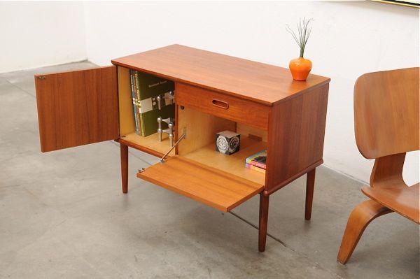 1950's Scandinavian furniture. Cabinet.    Interior / Home / Decor / Design / Furniture / Accessories / Contemporary / Transitional / Modern