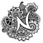 35 best Adult Coloring Pages | Neetika Agarwal images on Pinterest ...