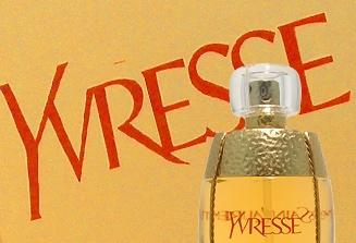 Yvresse is een sprankelende en wervelende geur die eerst Champagne werd genoemd. Het is in 1993 gecreëerd. Het is een fantastische mix van zoete maar scherpe floraal-fruitige geuressences, beginnend met briljante topnoten die verdwijnen naar een aroma dat je omhult met haar warmte.
