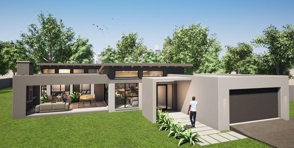 3 Bedroom Contemporary Hous Contemporary House Plans Contemporary House House
