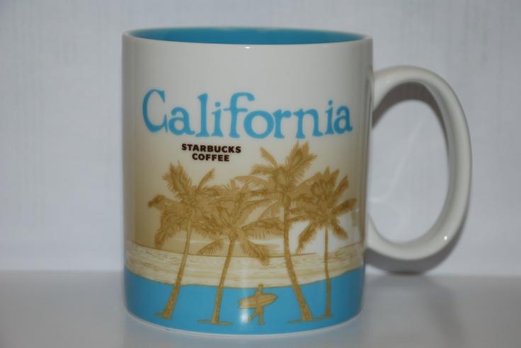 Starbucks tasse california