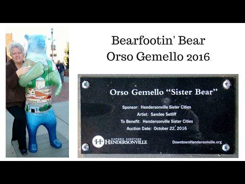 Hendersonville, NC Bearfootin' Bears Orso Gemello 2016 - YouTube