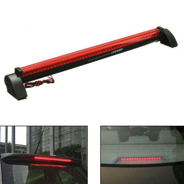 Universal LED Bright Red Car Brake light Safety Lamp LED Brake Light - Tail Lights