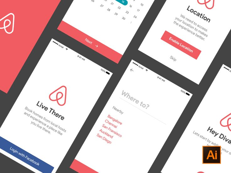 Airbnb Ui Kit  on UI Space