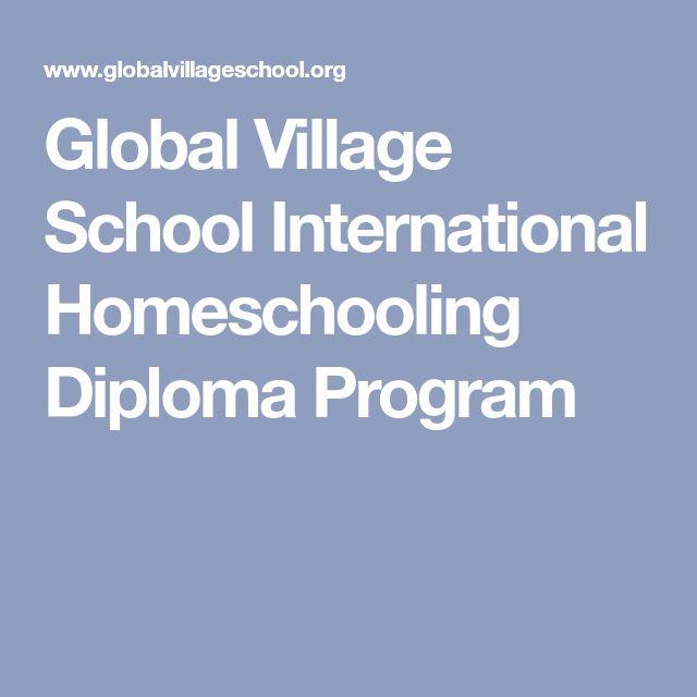 Global Village School International Homeschooling Diploma Program