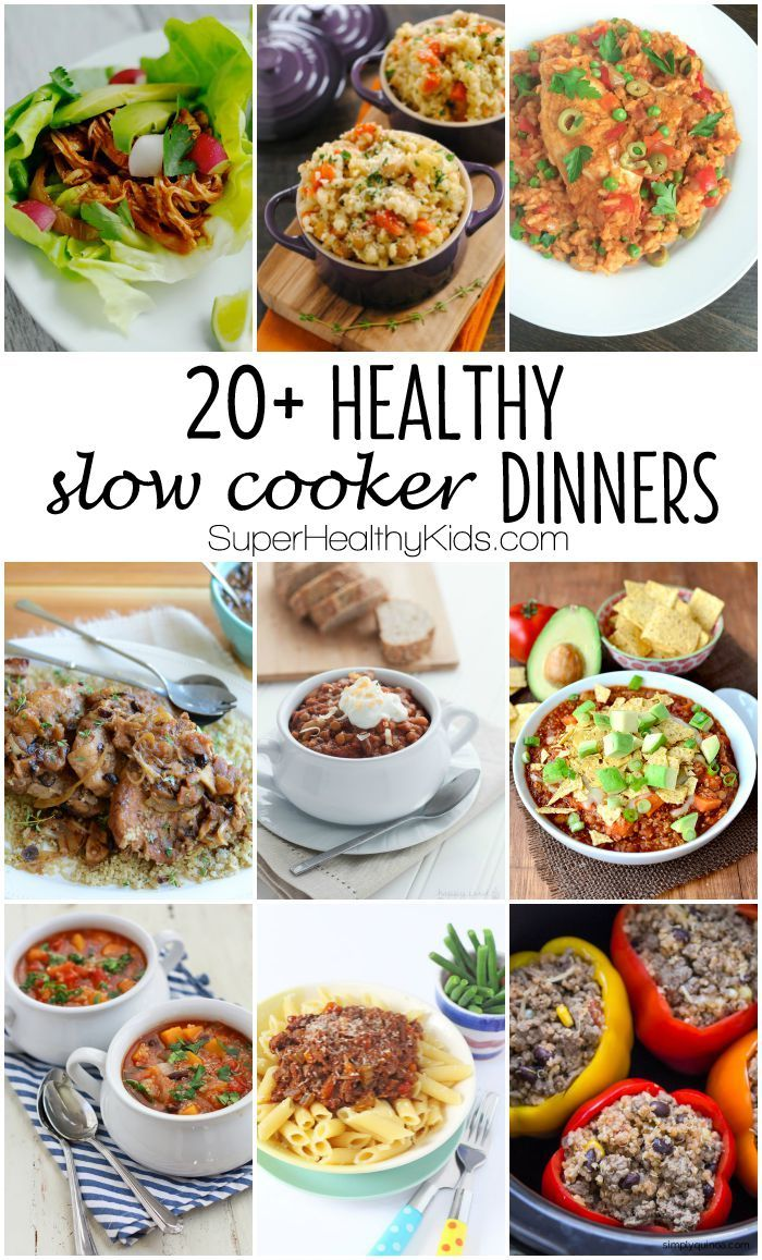 1482 best quick and healthy food images on pinterest Quick and healthy slow cooker recipes