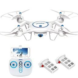 Just found amazing new website MassGenie. Price drops when you Crowd shop. $73.55, Save 43%. When camera meets drone, a walking movie is switched on. The flying drone takes the camera to capture the view that the camera never saw on the ground; the real-time images transmission system offers you much more convenient aerial experience.