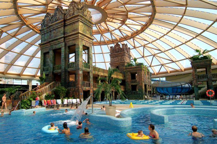 Temple in Aqwaworld #aquaworld #angkor #temple #aquapark #fun #adventure #chillout #budapest #hungary