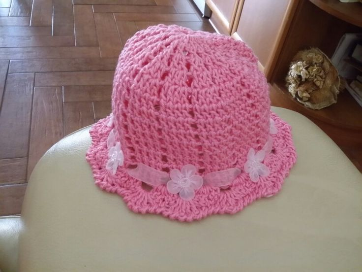 Cappello bimba in cotone