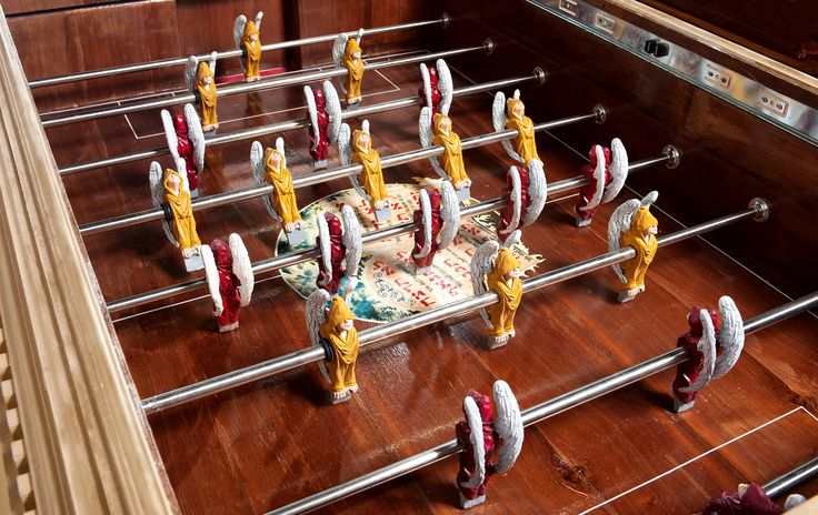 foosball soccer table by S.J LEE
