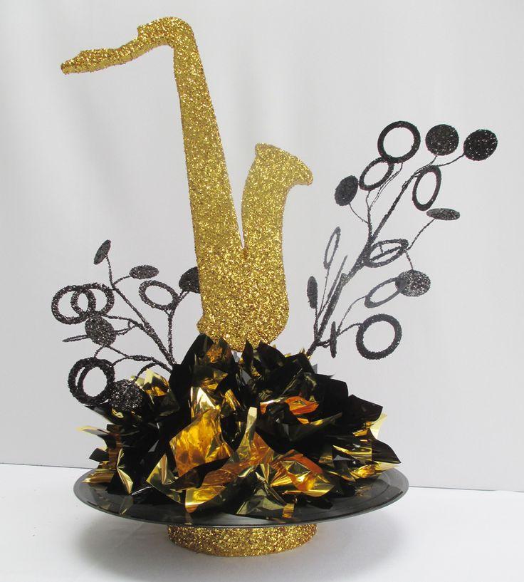 Motown saxaphone record motown party ideas pinterest for Record decoration ideas