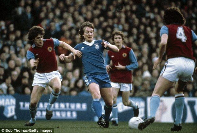 Agonising: Ipswich beat leaders Aston Villa  2-1 but still failed to win the title in 1981