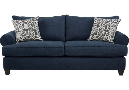 Emsworth Navy Sofa In 2019 Navy Sofa Sleeper Sofa Sofa
