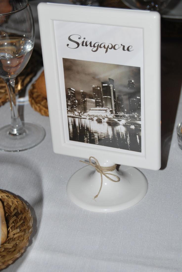 Segna tavolo per matrimonio - Table number for wedding