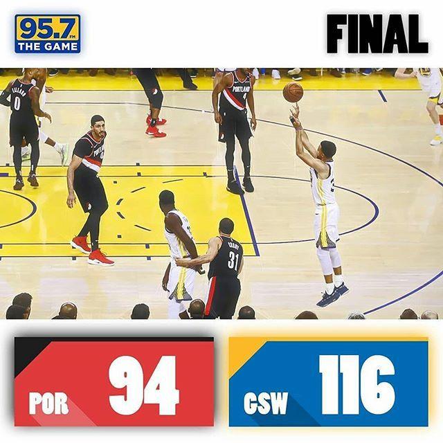 Warriors Win Game1 116 94 Warrior National Basketball Association Basketball Association