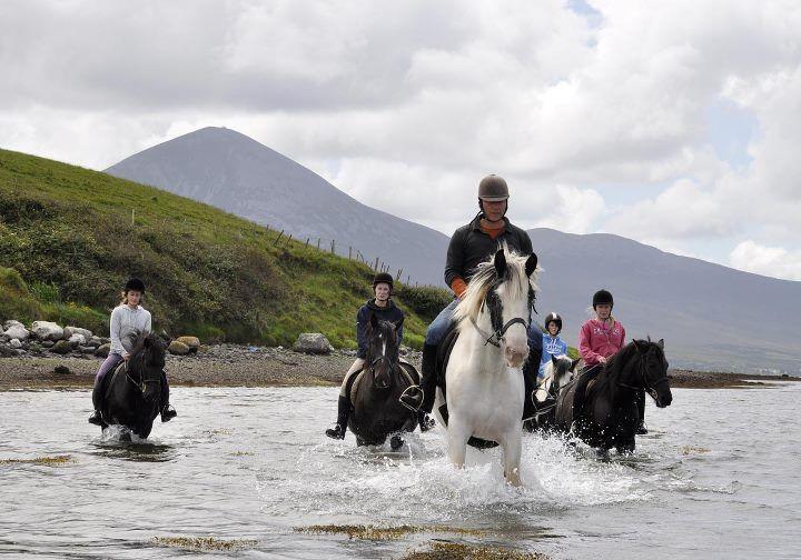 Horse Riding Westport, Ireland