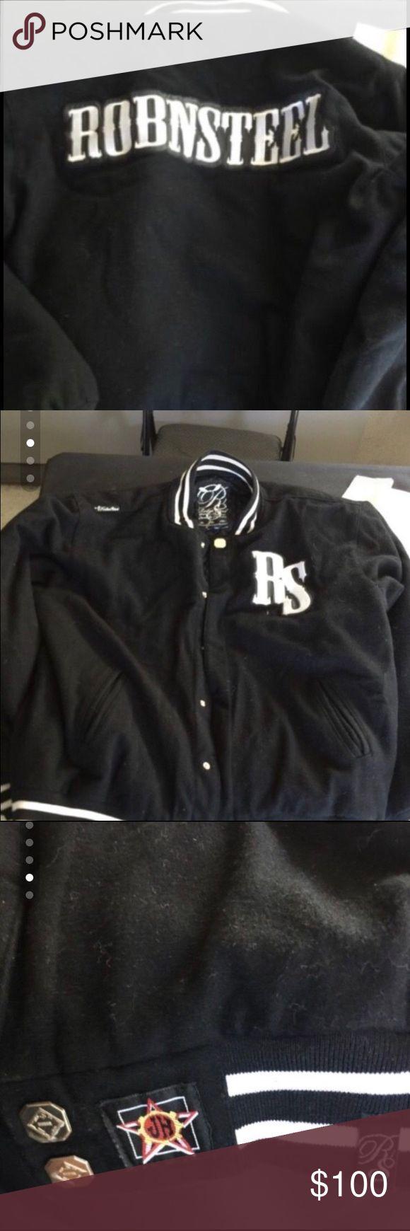 ROBNSTEEL Lettermans jacket Size XL Rob N Steel Lettermans jacket Jackets & Coats Utility Jackets
