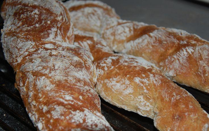 Brød, brød, brød.