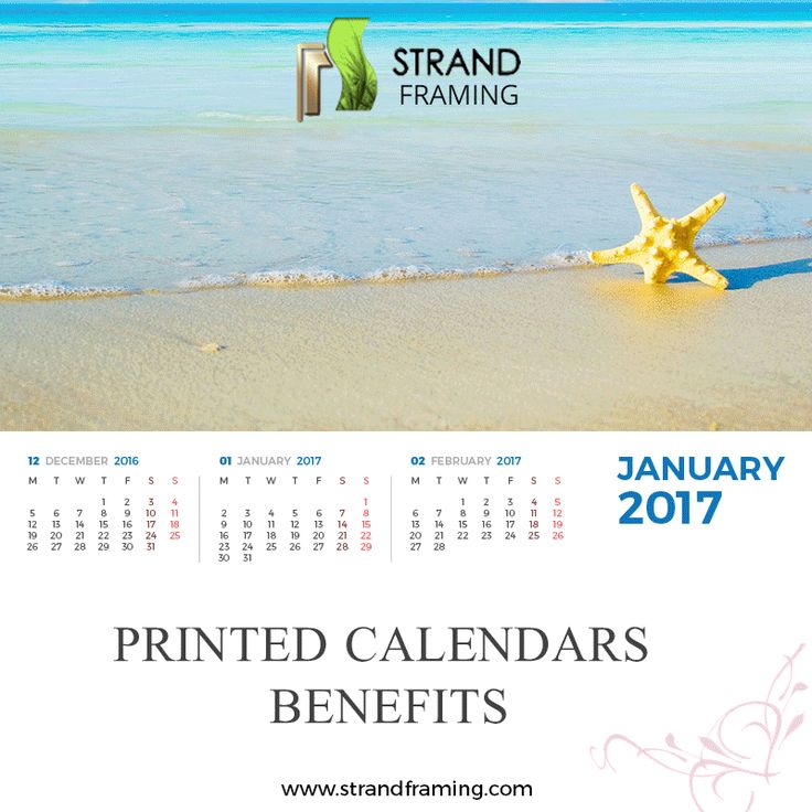 Did you know what are the #Benefits of printed #Calenders? Click on this #GIF image from Strand Framing and you'll find out!