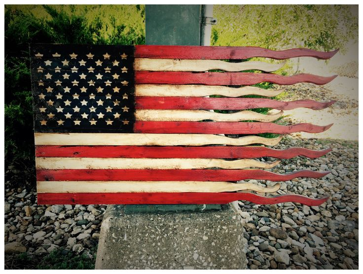 American Flag American Battle Flag Tattered by AmericanFlagShop