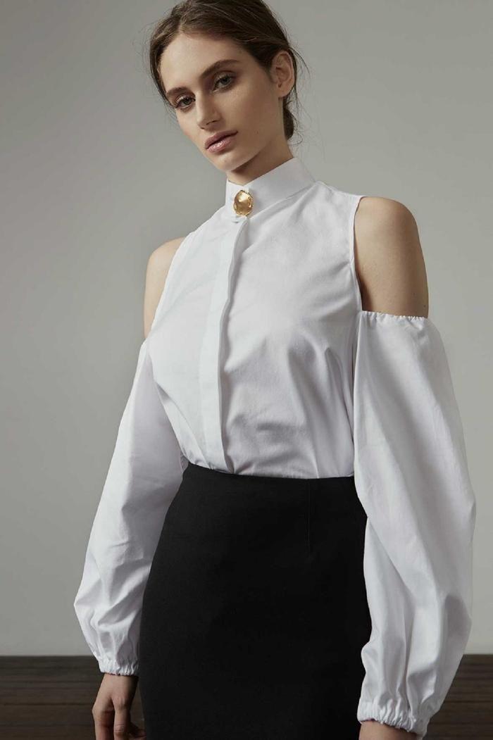 ANNA QUAN - the Allegra shirt
