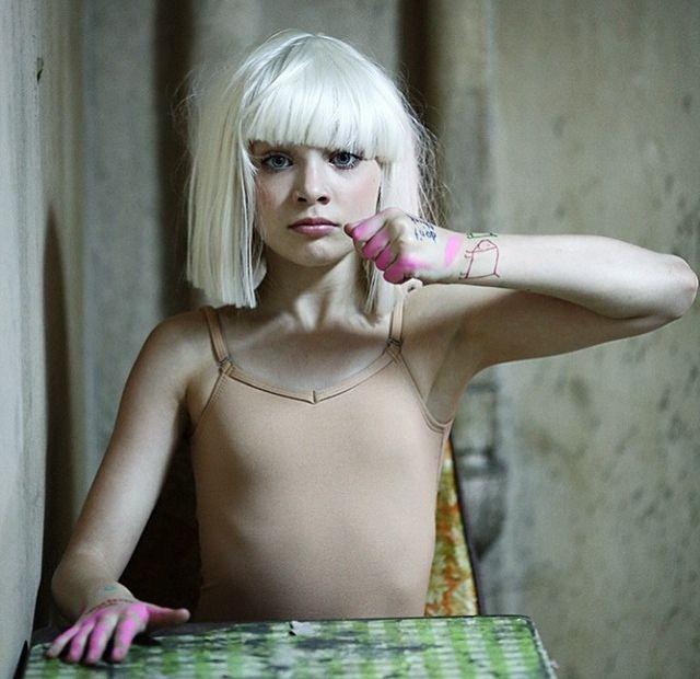 "Madison Ziegler featured in Sia music video, ""Chandelier"""