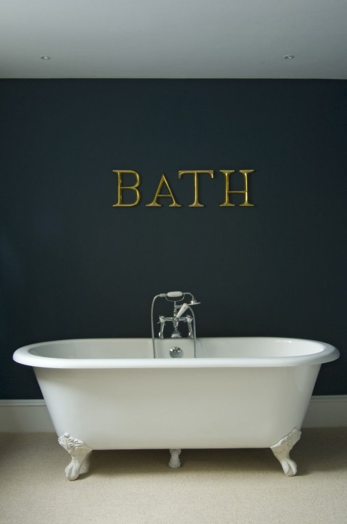 Inspiration: 5 Ways To Use Dark Blue in your Bathroom - The Chromologist - Hague blue