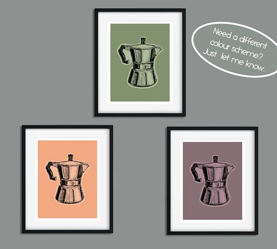 Set Of 3 Coffee Cup Canvas Wraps: Best 25+ Coffee Wall Art Ideas On Pinterest