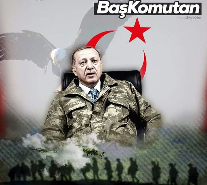 Başkomutan Recep Tayyip Erdoğan   Ayı, Başkanlar, Parti