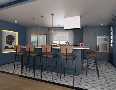 """Check out new work on my @Behance portfolio: """"W.I.P. apartment""""…"""