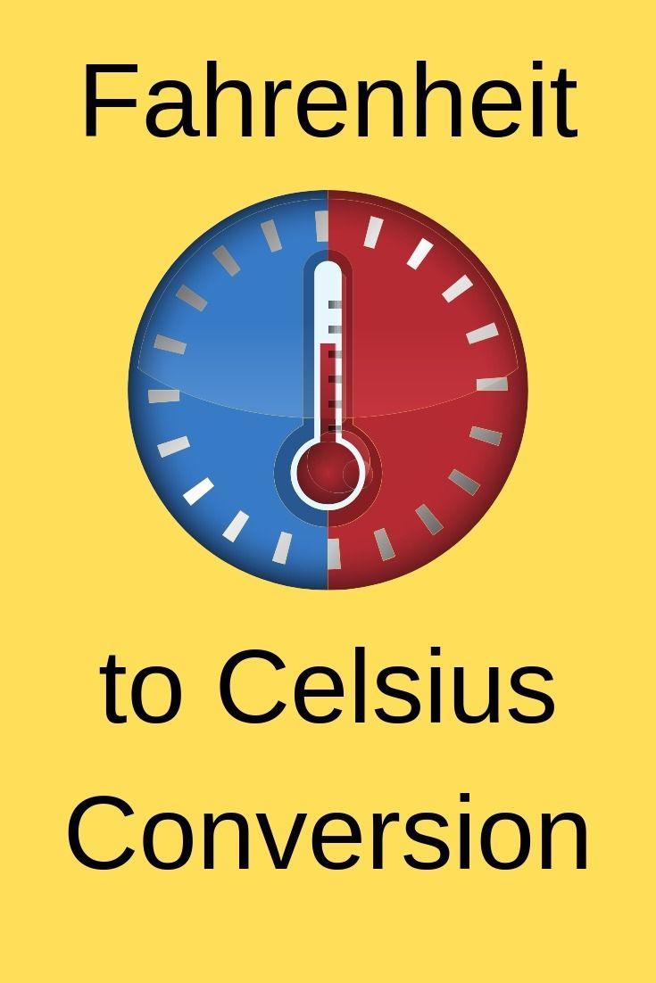 Fahrenheit To Celsius Conversion Temperature Conversion Chart Fahrenheit Temperature Converter
