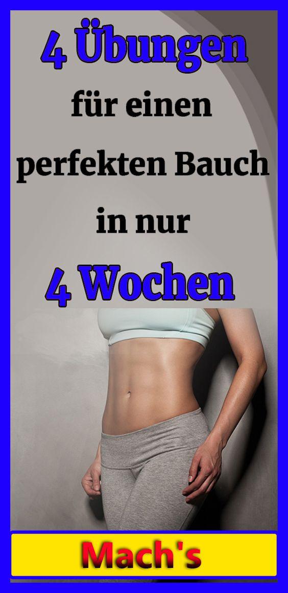 4 Übungen werden Ihnen helfen, einen perfekten Bauch in nur 4 Wochen zu erhalten