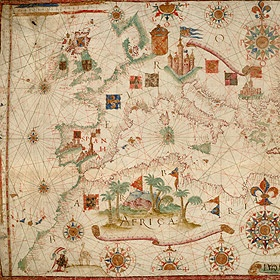 Download 40 Beautiful Old Maps with an  Antique Look