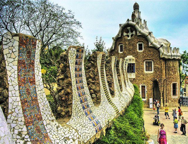グエル公園 (スペインの世界遺産)