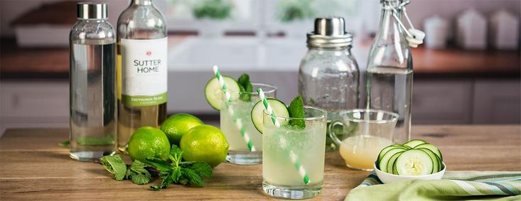 Sutter home sauvignon blanc goes green for st patricks
