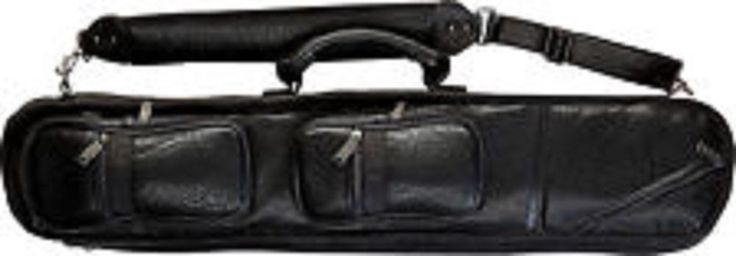 Lucasi LC-3 4x8 Black Lined Pool Stick Case Soft Pool Case Free Shipping! #Lucasi